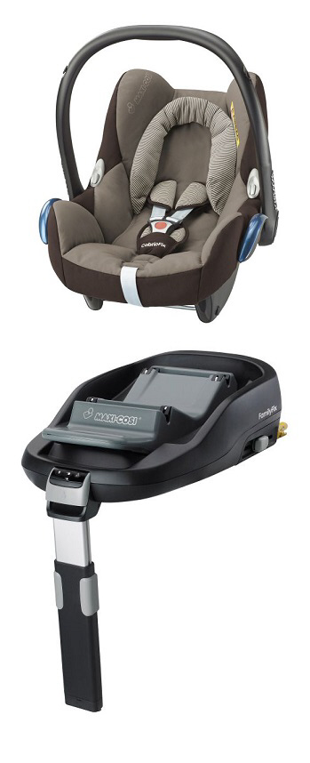 Maxi cosi cabriofix incl family fix base 2016 earth brown for Housse maxi cosi cabriofix