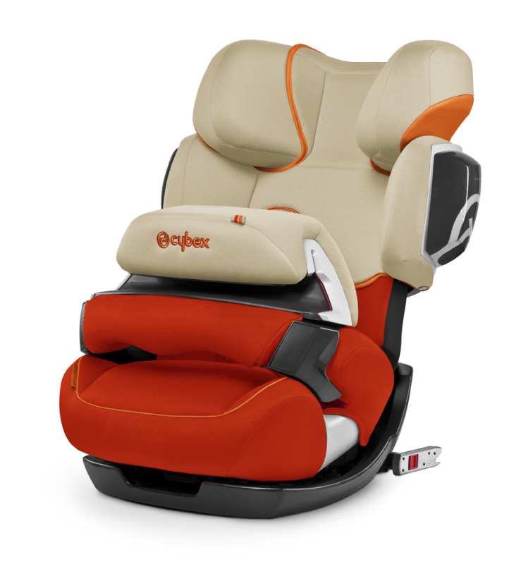 cybex car seat pallas 2 fix 2014 autumn gold burnt red buy online at kidsroom de car seats. Black Bedroom Furniture Sets. Home Design Ideas