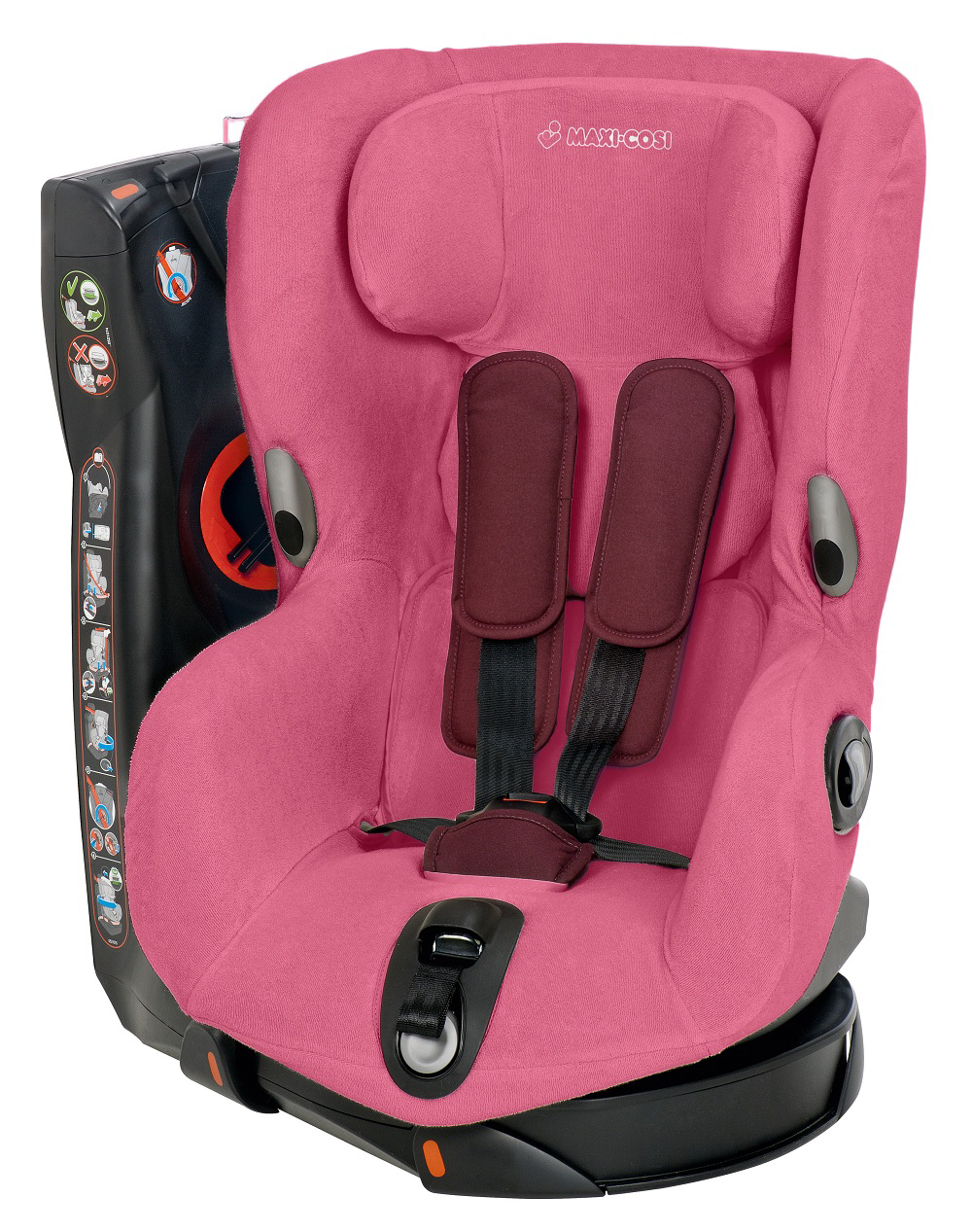 maxi cosi summer cover for car seat axiss 2015 pink kidsroom de. Black Bedroom Furniture Sets. Home Design Ideas