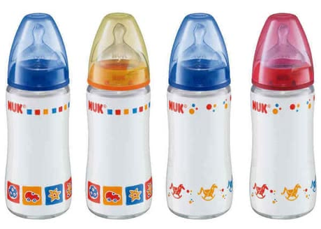 NUK 240ml Glas-Bottle First Choice Silicone 2012 - large image