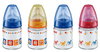 NUK 120ml Glas-Bottle First Choice Silicone 2012 - large image 1