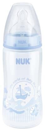 NUK Baby Blue FIRST CHOICE+ baby bottle 2017 - large image