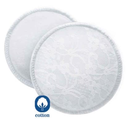 AVENT Washable nursing pads -  Very environmentally friendly is the use of the AVENT washable breast pads.