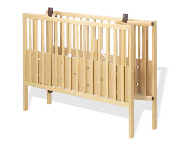 Kinderbett Holz Klappbar: Pinolino Kinderbett Fritz Klappbar, 60x120 Buche Natur