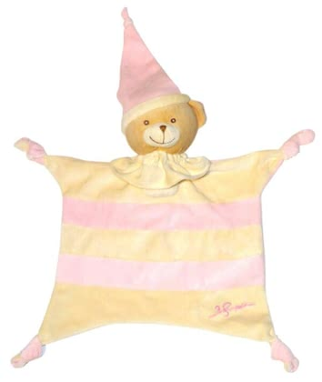 Bieco cuddle blanket, tumble bear rose 2012 - large image