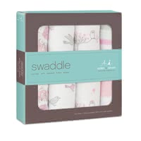 aden+anais Classic Swaddle 4-pack - The great versatile swaddles from aden+anais will soon become an important accessory in your everyday live with your little one.