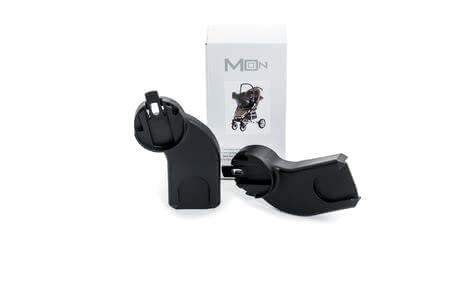 Moon Adapter Kiss und Flac  - Thanks to the Moon adapter, you can attach the infant carriers of Maxi-COSI, Cybex, kiddy, Recaro and BeSafe on the buggy models kiss and FLAC - so you h...