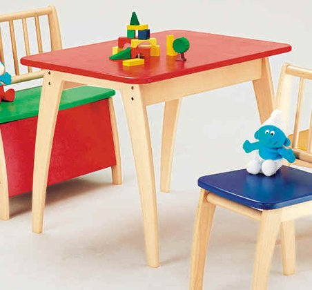 Table multicolore Bambino, par Geuther bunt 2016 - Image de grande taille