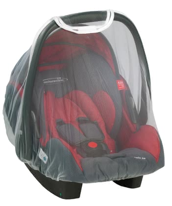 STM Storchenmühle Mosquito net for Twin 0+ infant carrier 2015 - 大圖像