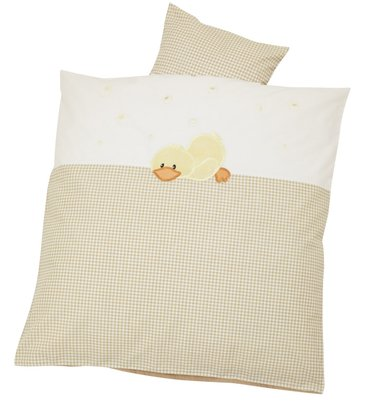 Alvi Bedding set with embroidery, 80x80 Sleeping Duck 2014 - 大圖像