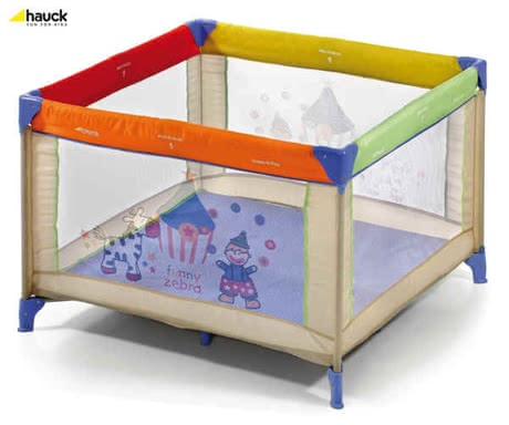 Hauck Dream´n Play 11 Square 96x96, Circus - large image