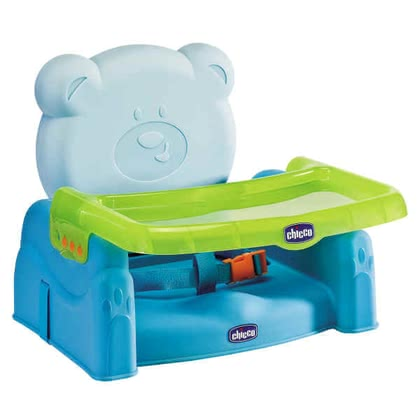 Chicco Mr. Party Booster Seat, Blue - 大图像