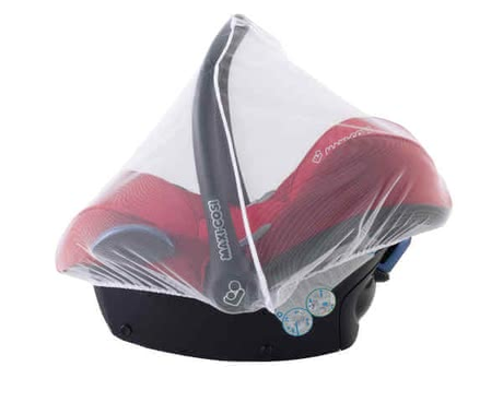 Maxi-Cosi Mosquito net for infant carrier - The mosquito net for the Maxi Cosi baby car seat is made of breathable polyester and is suitable for the Cabriofix, Pebble and Citi SPS