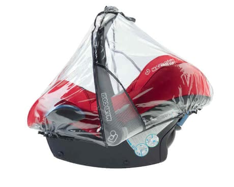 Maxi-Cosi Rain cover for infant carrier - The Maxi-Cosi rain cover protects your darling from rain and is suitable for the baby car seat Cabriofix, Pebble and Citi SPS