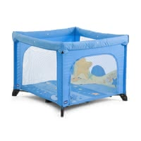 Chicco Open playpen - The Chicco playpen Open can be used as a playpen or travel cot!With playmat and removable play figures.