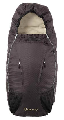 Quinny Fußsack für Speedi 2011, Fudge - Quinny Speedi footmuffFootmuff suitably to the Quinny collection, upper top removable, height: 90 cm, width: 30 cm, can be fixed with 5 point harness,