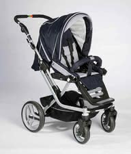 Teutonia Kombikinderwagen Mistral S, Trend-Design 4115 - Teutonia Mistral S Mistral S - the handyman of all pushchairs Useable for newborn babies - adapted for all Teutonia carrying bags (carrying bags addition...