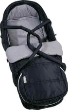 Teutonia Softtragetasche, Trend-Design 4115 - Teutonia Soft-carrying bag This flexible and light weighted soft carrying bag is easy to convert in a few hand grips into a foot muff and easy to lock in...