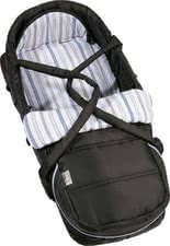 Teutonia Softtragetasche, Trend-Design 4125 - Teutonia Soft-carrying bag This flexible and light weighted soft carrying bag is easy to convert in a few hand grips into a foot muff and easy to lock in...