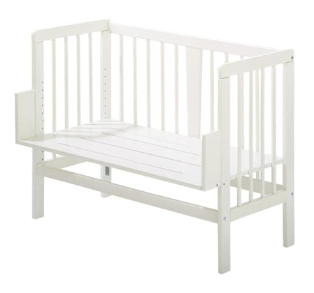 Alvi Co-sleeper cot -   The Alvi mounatable crib is the perfect solution to be your little angel always reassuring close. With adjustable angle the Alvi mountable crib is adjustable to any bed.