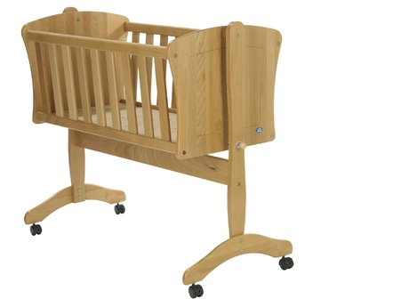 Alvi Cradle Pia - The Alvi baby cradle Pia provides your sweetheart a large reclining surface, is very stable and equipped with castors - that allows you quickly and easily moving the baby cradle anywhere you want