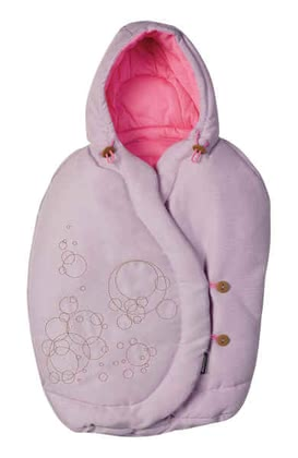 Maxi Cosi footmuff for Baby car seat Pebble 2011, Marble Pink - large image