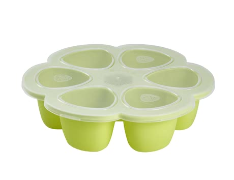 Béaba Multi-portion container made from silicone - Multi Portions For freezing baby´s savoury and sweet meals, individual portions depending on baby´s appetite.
