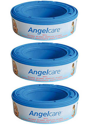 "Angelcare Refill cassettes for ""Windeltwister"" (diaper twister) - Saver set 2013 - large image"