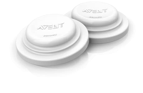 AVENT Sealing discs -  With the closure lids you transform all Avent bottles in storage containers for breast milk or baby food.