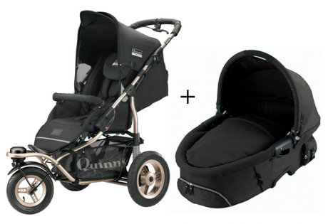 Quinny Freestyle 3XL Comfort pushchair + Dreami Black 2013 - large image