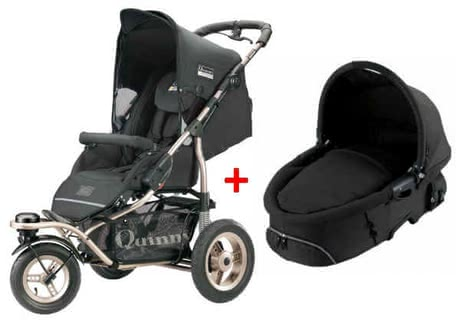 Quinny Freestyle 3XL Comfort Kinderwagen 2011, Black + Dreami - Großbild
