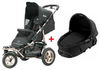 Quinny Freestyle 3XL Comfort Kinderwagen 2011, Black + Dreami - Großbild 1
