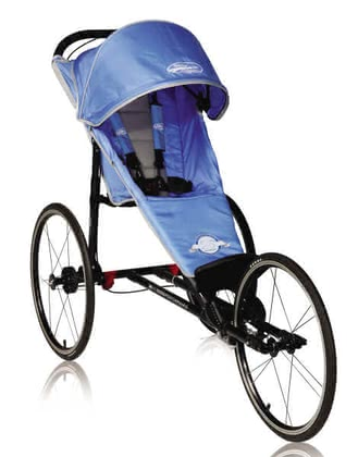 Baby Jogger Performance, Blue/Silver 2012 - Großbild
