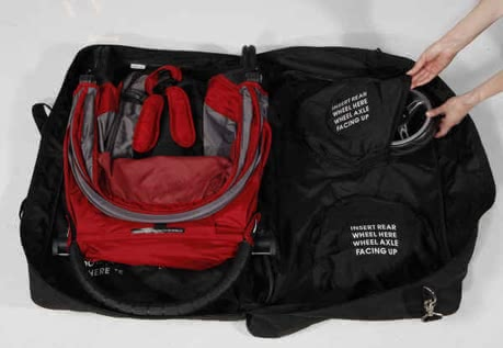 Baby Jogger Carry Bag for Micro, Mini 2012 - 大图像