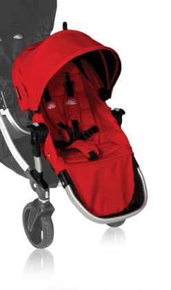 Baby Jogger Second Seat for City Select, Ruby 2012 - 大图像
