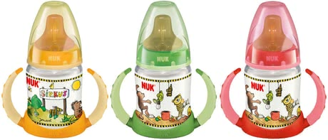 NUK 150ml PP First Choice Trinklern-Flasche Janosch - large image
