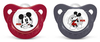 NUK Disney Mickey Mouse soother from PP and silicone with ring, size 1 (0-6 months), BPA-free 2012 - большое изображение 1