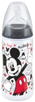 NUK FIRST CHOICE+ 迪士尼米奇嬰兒奶瓶,300毫升 - The NUK Disney Mickey FIRST CHOICE+ baby bottle has a capacity of 300 ml and is ideal if you want to combine breast and bottle feeding.