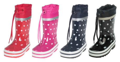 Playshoes wellies, dots - Image de grande taille