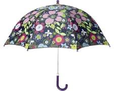 Playshoes Kinder-Regenschirm Flora, violett