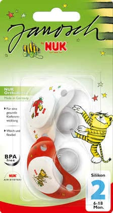NUK scoother silicone Janosch 2012 - large image