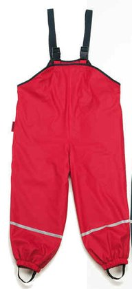 Playshoes rain dungarees with fleece lining - Imagen grande