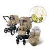 Knorr Alu child s pushchair Miko 2011, black-white - большое изображение 1