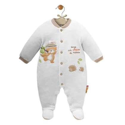 Chicco Strampelanzug, Natur (Nicki) 100% Bio-Cotton - large image