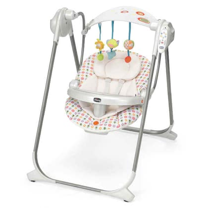 Chicco Babyschaukel Polly Swing Up, Flower Power - 大图像