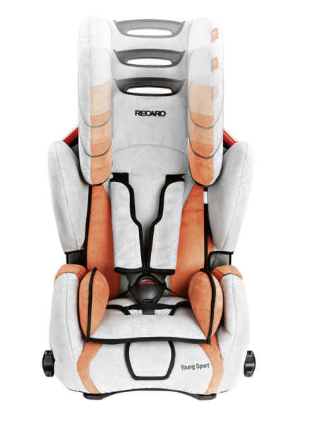 recaro young sport 2011 bellini punched cherry black. Black Bedroom Furniture Sets. Home Design Ideas
