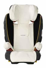 STM Storchenmühle Summer cover for Solar 2/ Solar 2 Seatfix/ Solar IS Seatfix - The cuddly-soft summer-seat cover for the Storchenmühle Solar car seats provides your little sunshine a pleasant sitting comfort even in warm weather