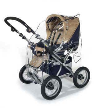 reer rain cover for stroller with reversible handle 2013 - large image