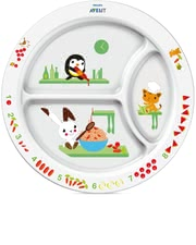 AVENT Mealtime training plate -  With the colorful Avent dishes every meal makes fun.
