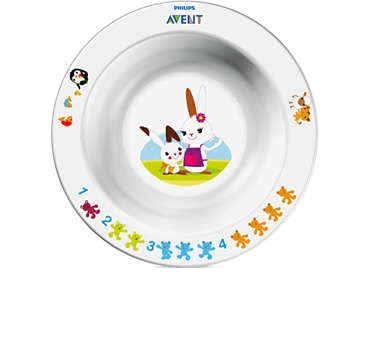 AVENT Small bowl -  With the colorful Avent dishes every meal makes fun.